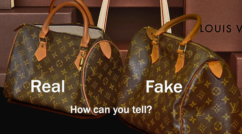Real vs. Fake Handbags