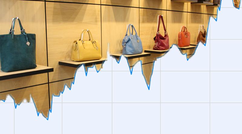 Handbag sales chart