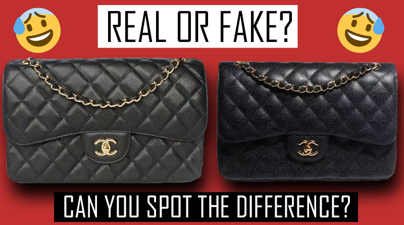 Real and Super Fake Chanel Handbag high quality counterfeit handbags